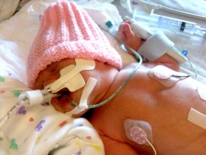 Isabella at the NICU