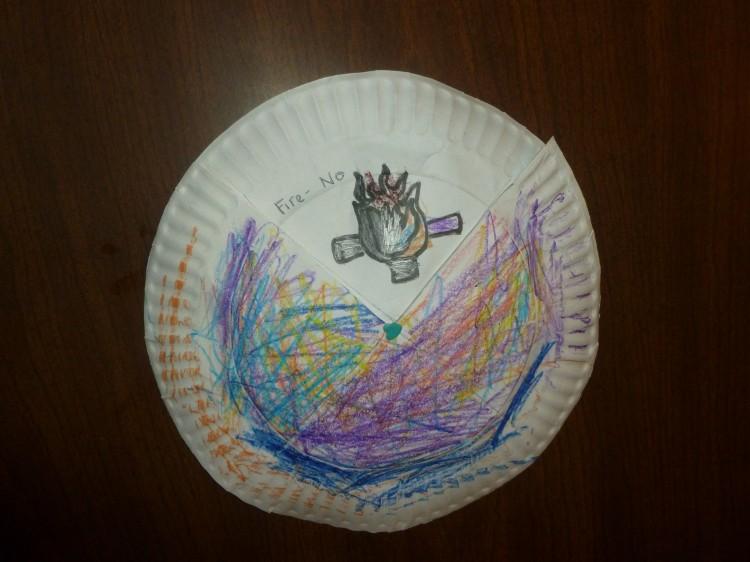 Kids Craft Elijah Hearing God In A Still Small Voice