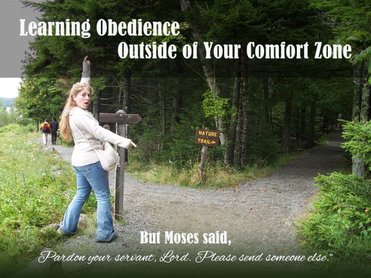 Learning Obedience Outside of Your Comfort Zone